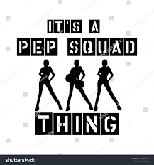 100 Pep Sa Squad Thing Girls Squad Designs Stock Vector Royalty