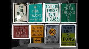 Truck Restriction Signs - Part 3 - YouTube Two Blank Highway Signs Overhead Trucks On Road Transport Concept Fork Lift Operating No Pedestrians Signs From Key Uk Sound Horn Calgary Car Door Magnets Truck Van Magnetic Orange County Company Logo For Trucks With A Driving Cab Manufacture Stock Health Safety De Riding On Forklift Is Forbidden Symbol Occupational Caution Sign 200 X 300mm Rigid Signage Bandit Auto Tyres Fork Lift Operating Sticker And