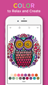 Coloring Book For Adults App Screenshot 1