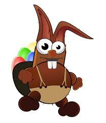 Clipart Crazy Easter Bunny
