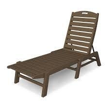 Armless Chaise Lounge Chair