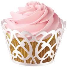 Wilton 415 0182 Pearl Swirl Cupcake Wraps