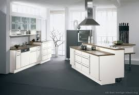 Modern White Kitchen Dark Floor Jgbkipz