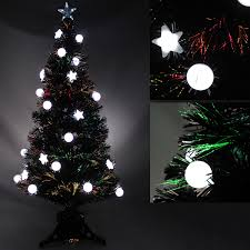 4ft Pink Pre Lit Christmas Tree by 3ft Pre Lit Colour Fibre Optic Christmas Tree 20 Slow Flash Led
