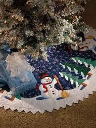 Seashell Christmas Tree Skirt by 106 Best Christmas Tree Skirts Images On Pinterest Diy Corona