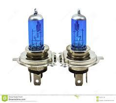 blue halogen light bulbs for cars stock photo image 32331118