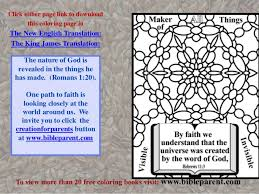 Bible Coloring Book Free Download Faith