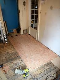 Preparing Wood Subfloor For Tile by Tile Ready Finally Progress Report 3 Half Classic Six