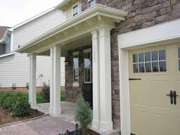 Columns On Front Porch by Non Tapered Pvc Porch Columns Curb Appeal Products