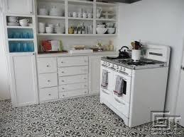 cuisine sol carrelage d intérieur de cuisine de sol en ciment cluny