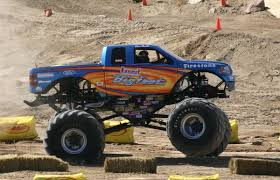 Bigfoot (truck) - Wikipedia Monster Truck Rides Obloy Family Ranch Car Crush Passenger Ride Experience Days California Hamletts Bkt Youtube The Public Are Treated To Rides At Chris Evans Wildwood Offers Course This Summer Toyota Of Wallingford New Dealership In Ct 06492 Backwoods Ertainment Monster Fmx Tickets Grizzly West Sussex A Along With Grave Digger Performance Video Trend Cedarburg Wisconsin Ozaukee County Fair