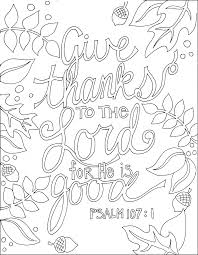Download Coloring Pages Bible Verse Memory Sheets Thanksgiving