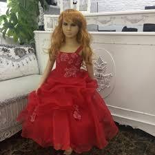 online get cheap new girls pageant dresses red aliexpress com