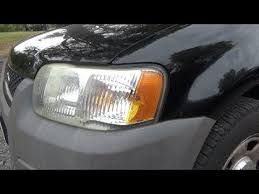 front turn signal bulb replacement 2001 2007 ford escape