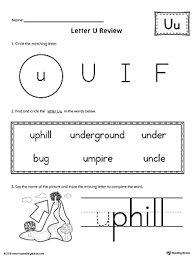 Word With The Letter U Image collections Letter Examples Ideas