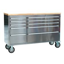 100 Kobalt Truck Tool Boxes Stainless Steel Cabinet Chest 5 Drawer Cabinets On