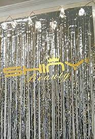 Foil Fringe Curtain Nz by Party Land Metallic Gold Foil Fringe Shiny Curtains For Party