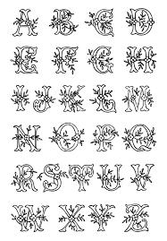 Best 25 Monogram letters ideas on Pinterest