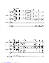 Cant Stop Loving You Music Sheet And Notes By Van Halen