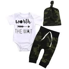Amazoncom Emmababy Unisex Baby Rompers Boys Short Sleeve Jumpsuit