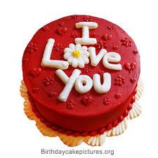 Birthday cake love