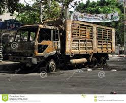 100 Burnt Truck Truck Editorial Photo Image Of Politic Street 14454666