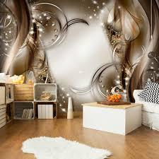 vlies fototapete abstrakt 3d effekt tapete wandbilder wohnzimmer 3 farbe ebay