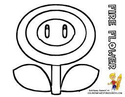Pin Drawn Mario Fire Flower 6