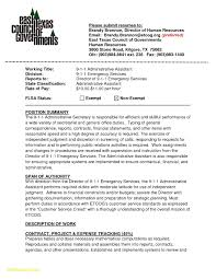 Admin Assistant Resume Examples 2016 Inspirational For An Administrative Download Executive