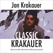 Classic Krakauer Audiobook By Jon Krakauer 9780525596127 Rakuten