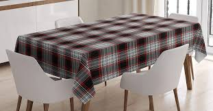 Amazon.com: Lunarable Plaid Tablecloth, Old Fashioned ... Kitchen Ding Fniture Lazboy Farmhouse Charm Our Old English Ding Table Brings Warmth Halo Styles Jk10 Ladder Back Side Chair At 1stdibs 40 Best Room Ideas Designer Rooms Decor Boca Do Lobo Luxury Exclusive Design Manufactures Top 10 Tables Holloways 33 Modern For Solid Mahogany Chippendale Style Chairs Refurbished Ms Round 4 Chairs Whats It Worth Find The Value Of Your Inherited