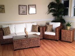Image Of Wicker Sunroom Furniture Sets