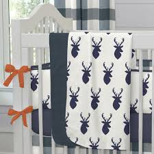 Curtain Fabric By The Yard by Windsor Navy Deer Head Fabric By The Yard Navy Fabric Carousel