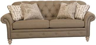 Smith Brothers Sofa Construction by Smith Brothers 396 Traditional Button Tufted Sofa With Nailhead