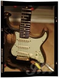 John Mayer Black Relic Strat For Storm