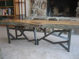 my new live edge glass coffee table woodworking