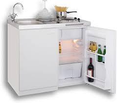 mebasa mk0001 pantryküche miniküche 100 cm weiß mit