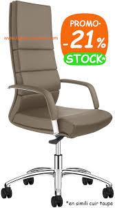 fauteuil de bureau basculant fauteuil direction basculant décentré design noir taupe air one