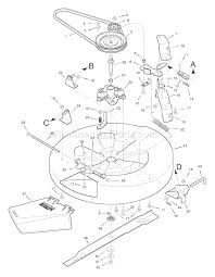 murray 30500x92a parts list and diagram 1998