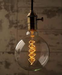 edison globe spiral large vintage filament light bulb e27 40w