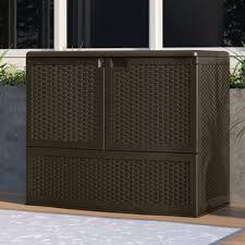 deck boxes patio storage