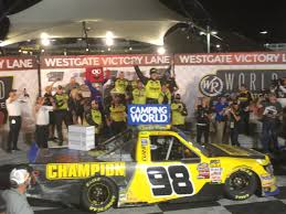 Enfinger Survives Finish, Wins Vegas Trucks - Iron County Today Nascar Atlanta 2017 Live Stream Start Time Tv Schedule And How To 2016 Arca Champion Chase Briscoe Race For Brad Keselowski Racing Bigfoot Truck Wikipedia Semi Truck Championships Results Schedules And Hd Pictures Toyota Misano Official Site Of Fia European Championship Mudsummer Classic At Eldora Viewers Guide Sbnationcom Trucks High Resolution Galleries 24 Hours Lemons Buttonwillow 2018