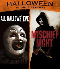 Wnuf Halloween Special Imdb by The Horrors Of Halloween Halloween Double Feature Posters Artwork