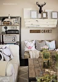 Aka Design Spring Mantel In Living Room