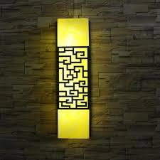 led artificial wall l modern outdoor garden light door
