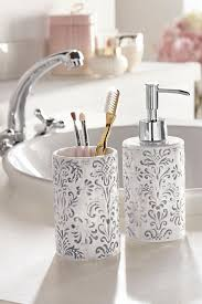 home affaire bad accessoires set 2 tlg mit barock motiv