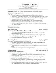 Account Clerk Resume