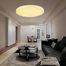 leuchten led 24 watt deckenle wohnraum sterneneffekt