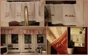 rideau de cuisine en déco broderie rideaux de cuisine la maisonnette de