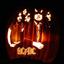 Smashing Pumpkins Cherub Rock Live by Ac Dc Photos Pumpkins Carved To Look Like Rock Stars Rolling